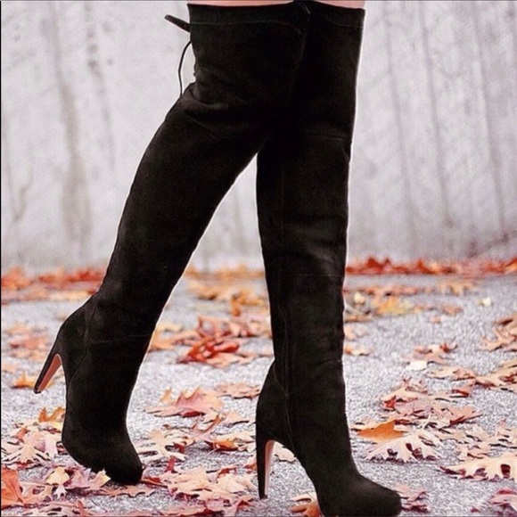 many styles factory price premium selection Sam Edelman Shoes   Kayla Suede Over The Knee Boots 85   Poshmark